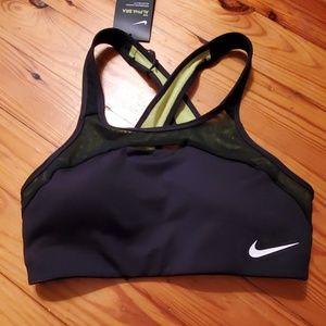 NWT RARE Sexy Nike Criss Cross Back ALPHA Bra